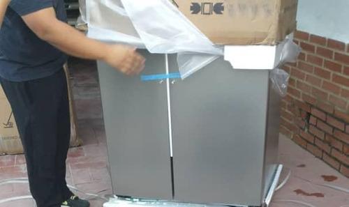 nevera de 21 pies, panel con dispensador  nueva 700vrd