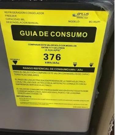nevera ejecutiva 2 puertas marca gplus inox
