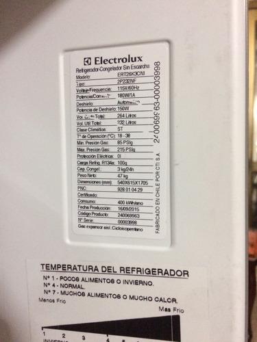nevera electrolux 264 litros en perfecto estado !!! excelent