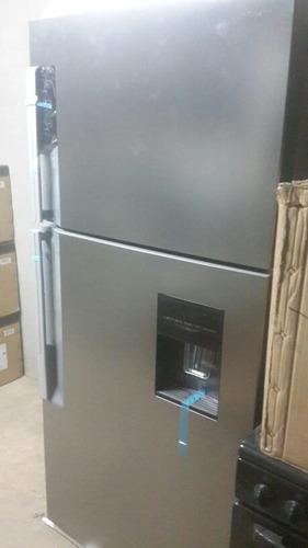 nevera frigidaire 19 pies smart con dispensador acero usada
