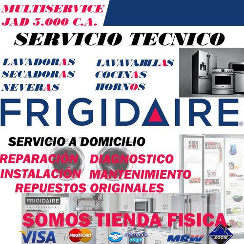 nevera frigidaire servicio técnico repuestos lavadoras secad