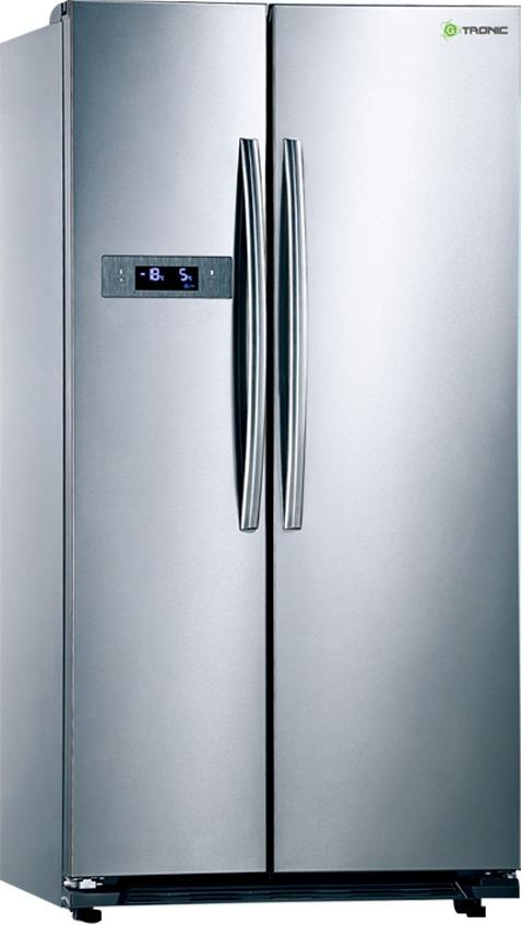 Nevera gtronic 2 puerta vertical modelo dghc 698we bs 3 - Nevera congelador dos puertas ...