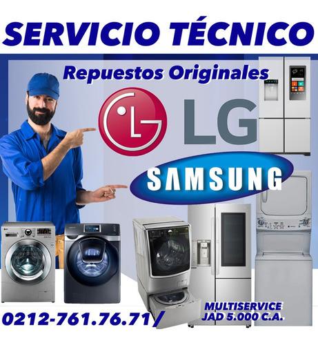 nevera lg samsung servicio tecnico reparación repuestos