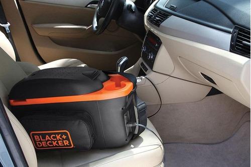 nevera portatil black + decker 8 lts 12v 48w