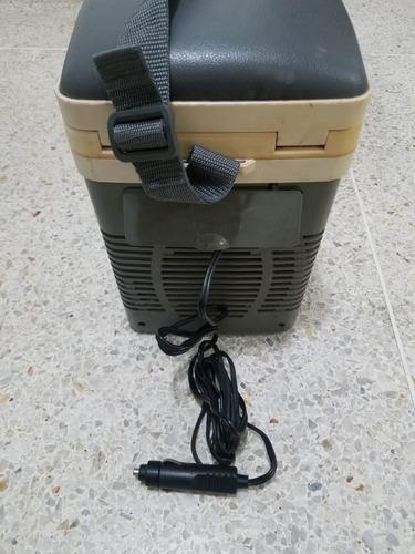 nevera portátil cooler con termocalentador y refrigerador