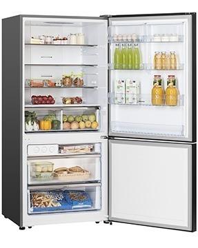 nevera refrigerador bacco acero inox 18 pies