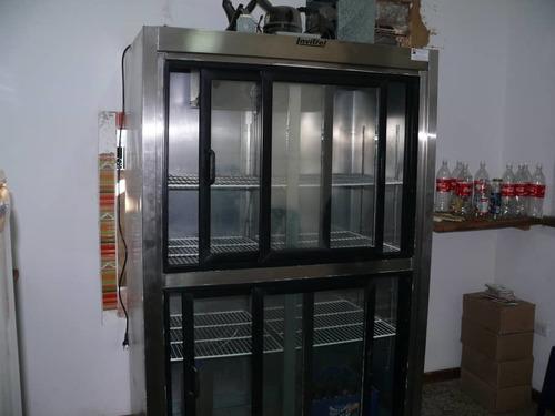 nevera refrigerador de cuatro puertas industrial como nueva