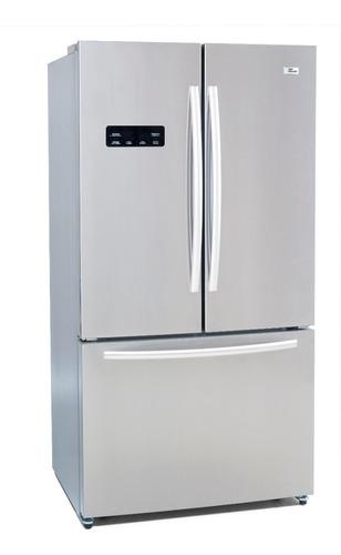 nevera refrigerador french door top mount 20 pies acero