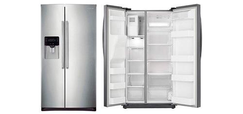 Nevera samsung 2 puertas 25 pies modelo rs25h5002sl bs - Nevera congelador dos puertas ...