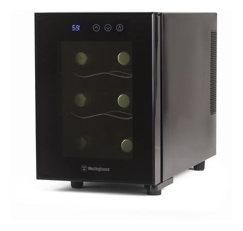 nevera térmica 6 botella de vino bodega con panel táctil