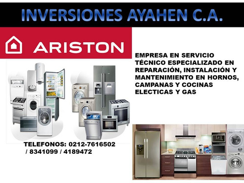 neveras ariston servicio tecnico