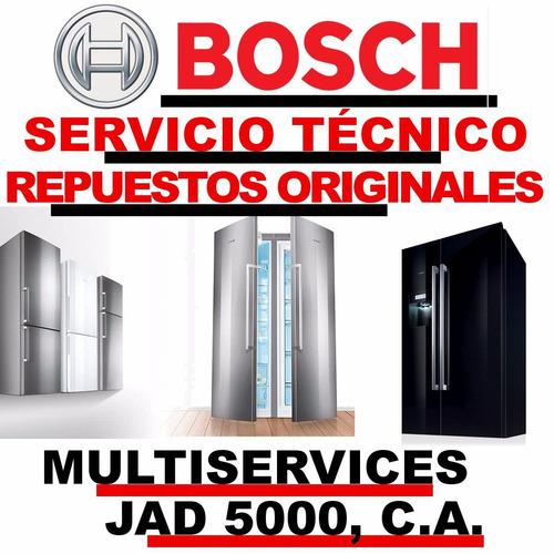 neveras bosch servicio tecnico autorizado