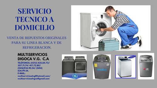 neveras lavadoras secadora repara lg -whirlpool- ge- samsung
