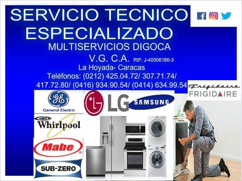 neveras lavadoras secadoras servicio tecnico en linea blanca
