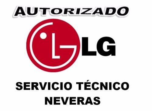 neveras lg servicio técnico autorizado