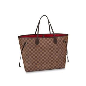 eea4b9490 Bolsa Louis Vuitton Neverfull Damier Ebene Gm !! - Bolsas com o ...
