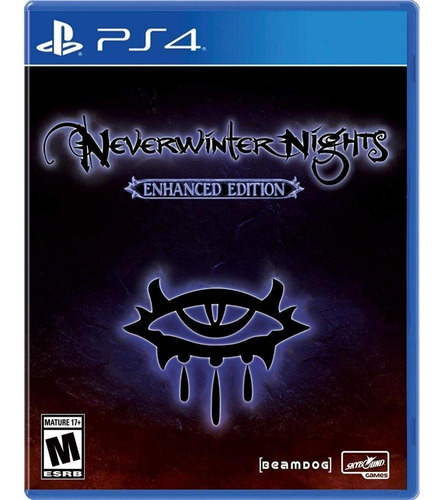 neverwinter nights: enhanced edition ps4 mídia física novo
