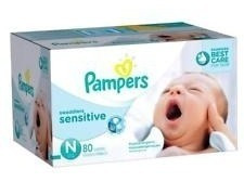 new (162 count) pampers swaddlers baby diapers size newborn