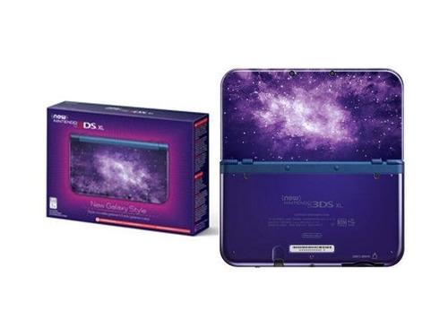new 3ds xl galaxy edition com 32gb + de 50 jogos 3ds