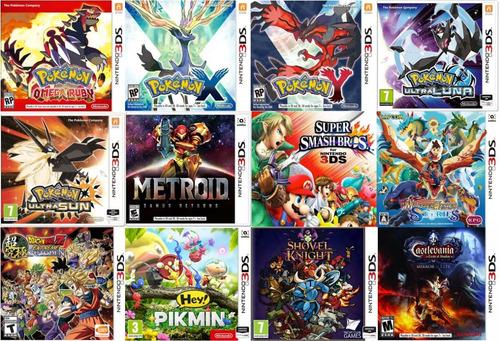 new 3ds xl pokemon solgaleo + 200juegos 32gb pokemon mario