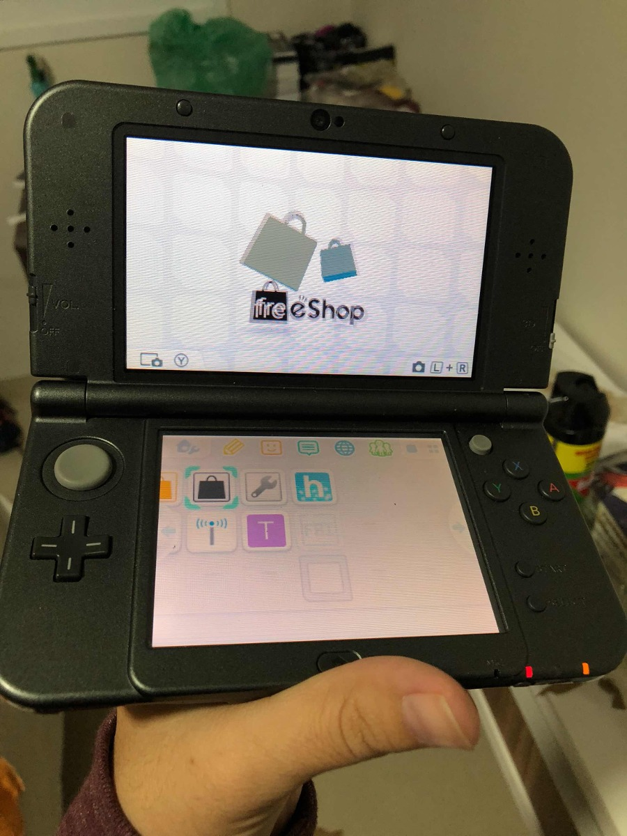 New 3ds Xl Preto Com Freeshop