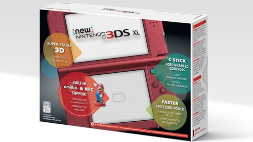 new 3ds xl + prote + carg + desbl -nueva // huaman.sales