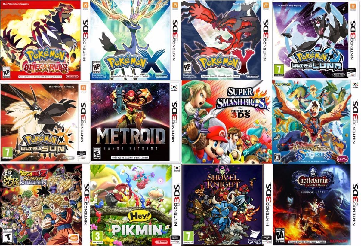 New 3ds Xl Zelda Ultraluna Mario Maker Juegos 3d Cargador