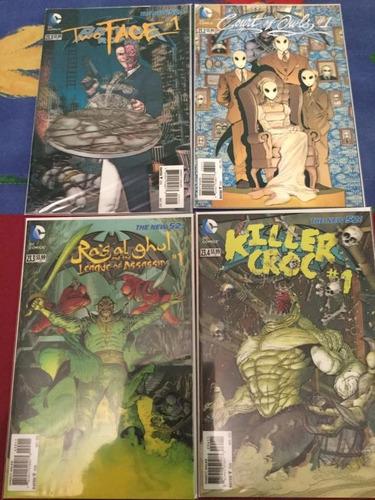 new 52 batman & robin colección