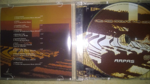 new age around the world cd arpas