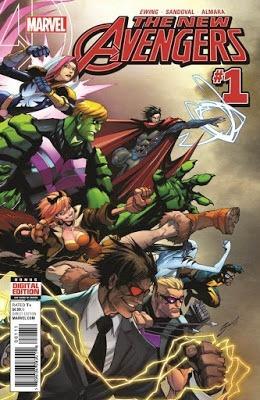 new avengers vol 4 cómics digital español