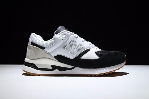 new balance 530 blanco negro
