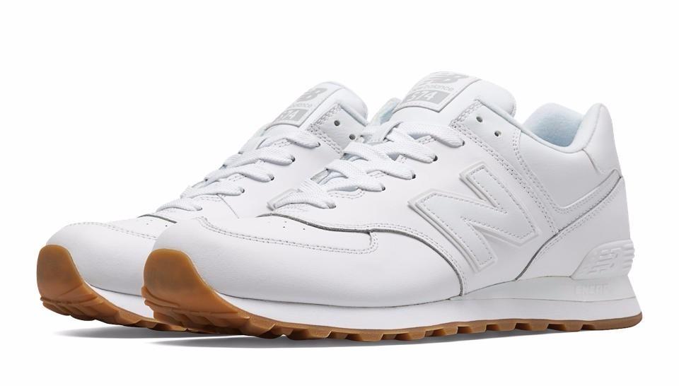 new balance blancas con gris