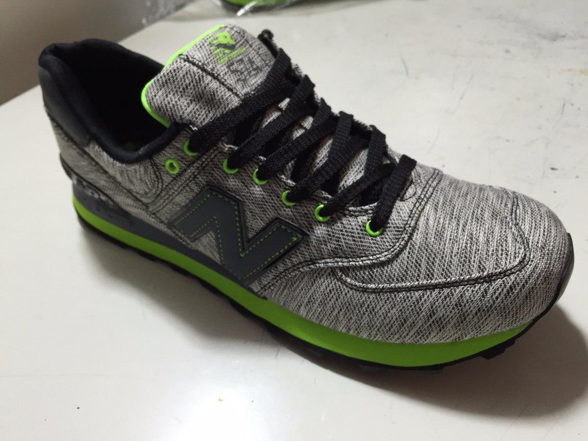 zapatillas new balance hombre 574 verde