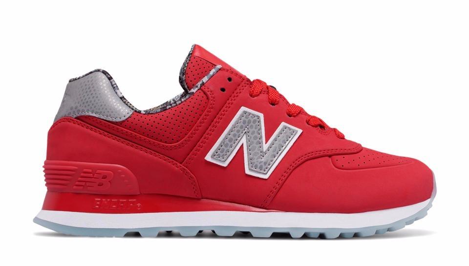 new balance rojas mujer