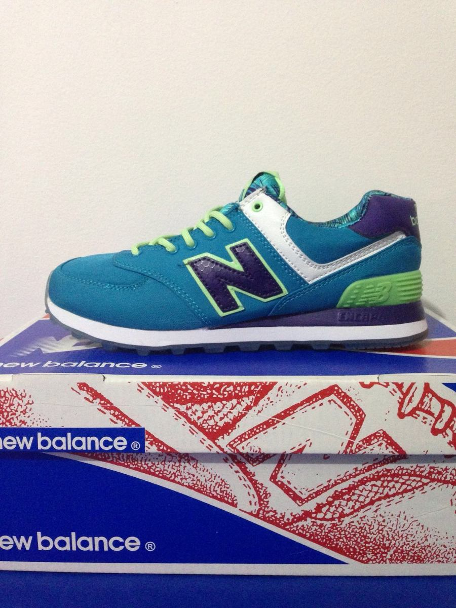 new balance 574 turquesa