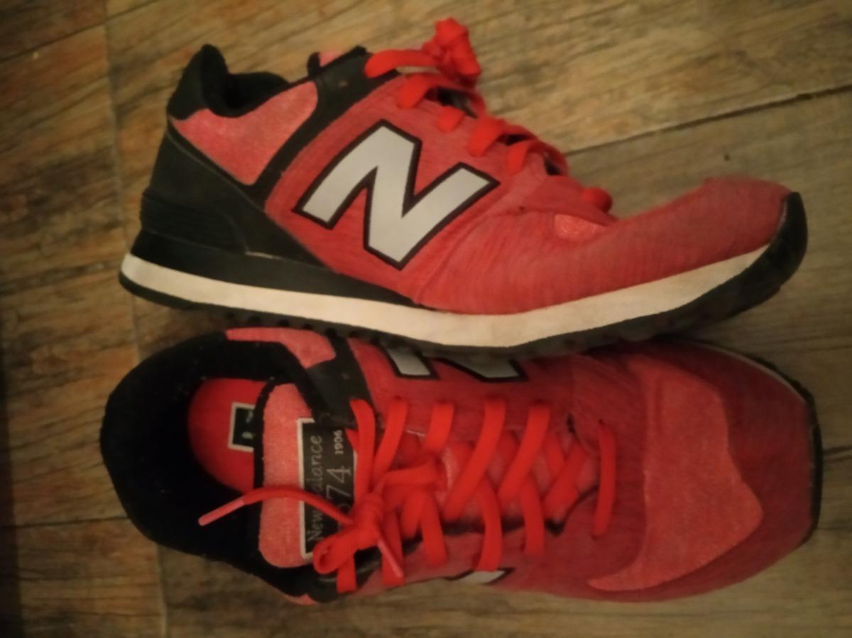 new balance 574 hombre rojas