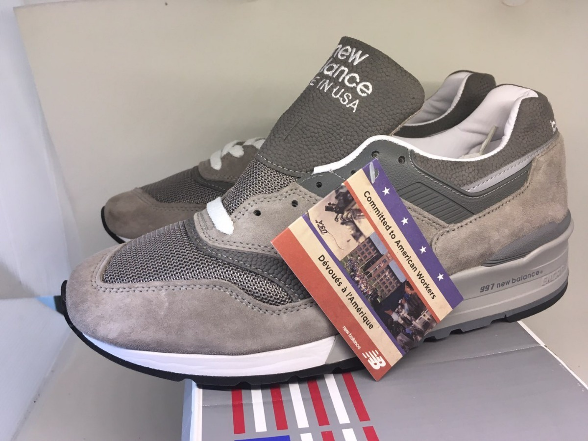 new style c4a7d 8774e New Balance 997 Gy Made In Usa Us 8.5