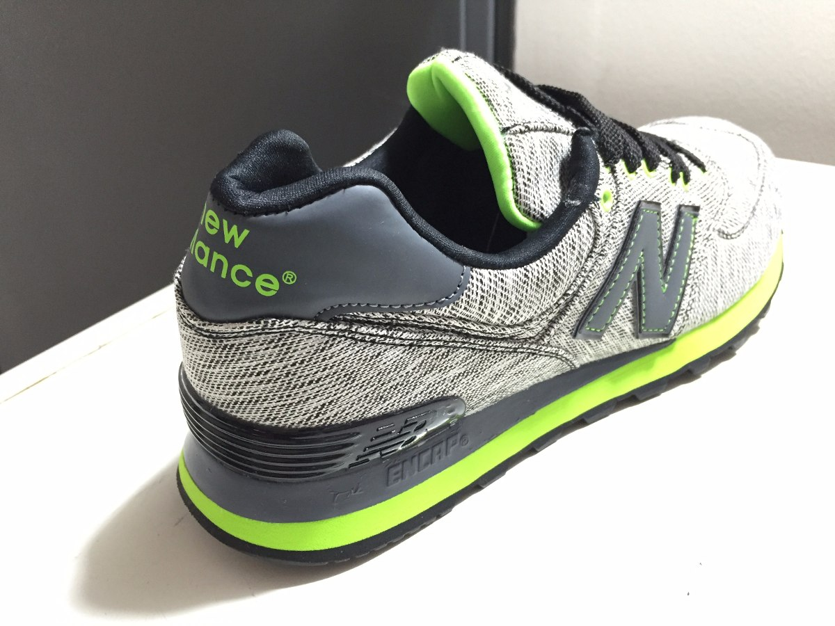 new balance hombres 574 verde