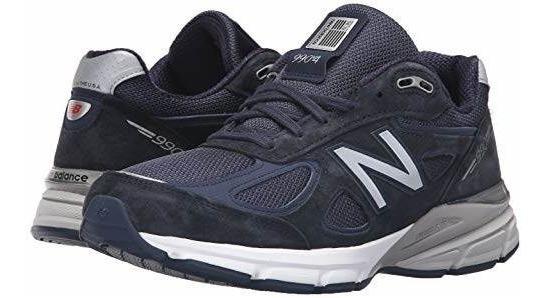 new styles c485d 5f519 New Balance Mens 990v4, Navy, 13 2a Us