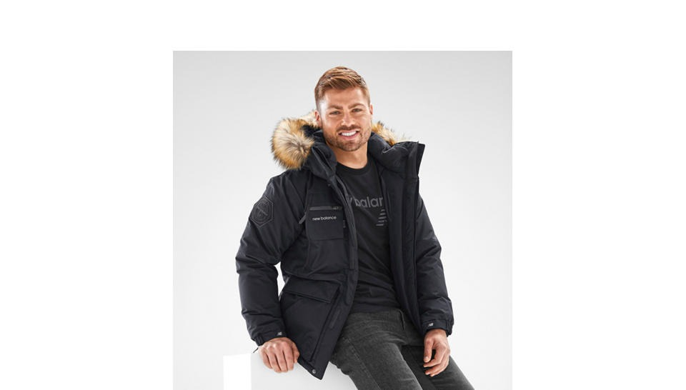 New Balance Patrol Down Jacket Hombre 1 822 527 En Mercado Libre