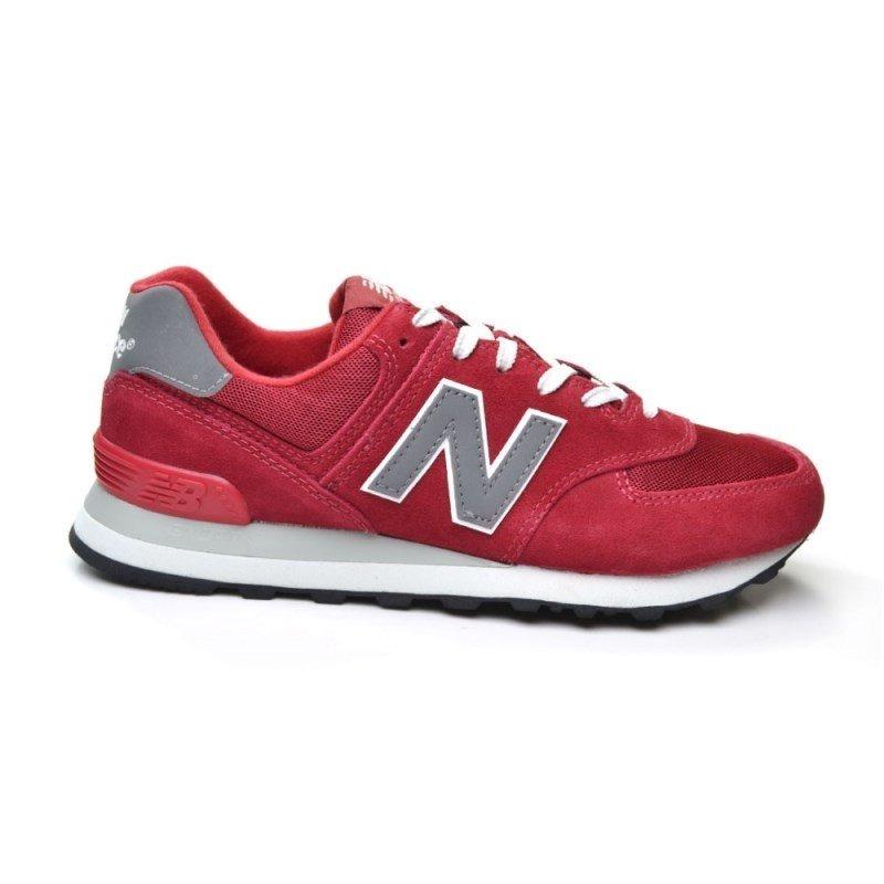 574 new balance hombre rojo