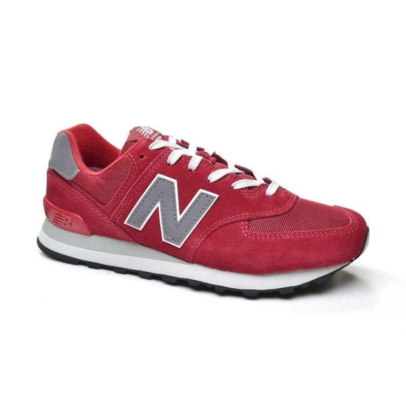 new balance hombres 574 rojo