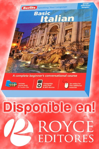 new basic italian course book. berlitz®