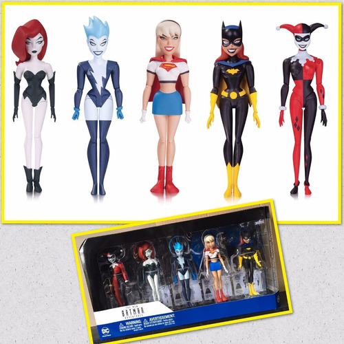 new batman adventures animated girls night out lacrado