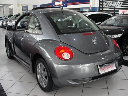 new beetle 2.0 tip tronic 2009 completo + teto solar