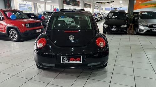 new beetle 2010 2.0 couro + teto solar