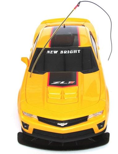 new bright 1:10 control remoto camaro zl1