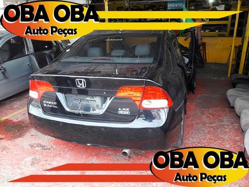 new civic 1.8 flex aut 2008/2008 - sucata para retirar peça