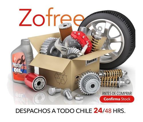 new cubre asiento sparco negro rojo individual ecocuero / zf