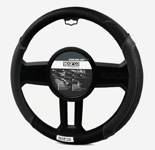 new cubre volante sparco deportivo negro con plomo / zofree